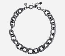 Brünierte Halskette