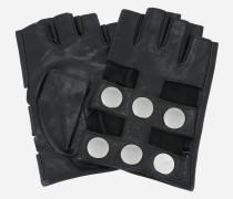 K/Snaps Fingerlose Handschuhe aus Leder