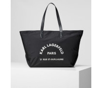 Rue St. Guillaume Tote Bag