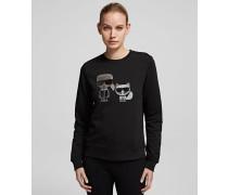 K/Ikonik Rhinestone Sweatshirt