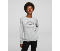 Pullover mit Rue St. Guillaume Logo-Print