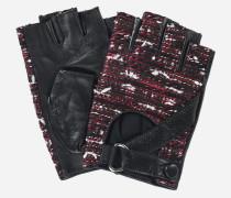 K/Tweed Lederhandschuhe