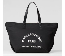 Rue St Guillaume Tote Bag, groß