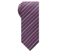 Krawatte Rot/blau Kariert