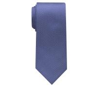 Krawatte Jeansblau Unifarben