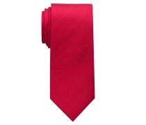 Krawatte Rot/blau Gemustert
