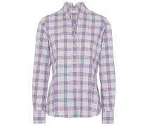 LANGARM BLUSE MODERN CLASSIC FLANELL /ROT
