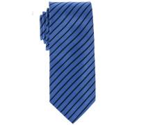 Krawatte Hellblau Gestreift