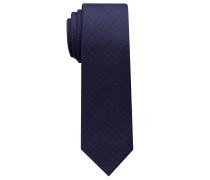 Krawatte Marineblau/rot Getupft
