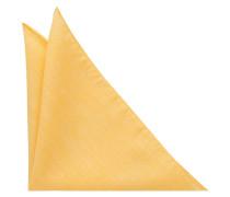 Einstecktuch Gelb Unifarben