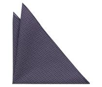 Einstecktuch Marineblau/pink/aqua Bedruckt