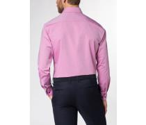 Langarm Hemd Modern FIT Chambray Pink Unifarben