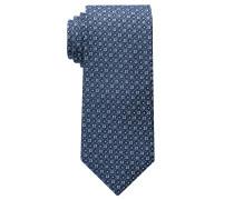 Krawatte Marineblau/hellblau Strukturiert