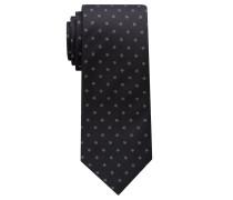 Krawatte Sschwarz/grau Gemustert
