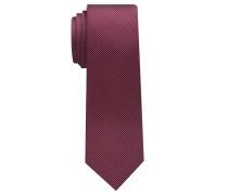 Krawatte Weinrot Gestreift