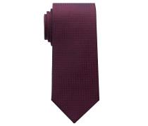 Krawatte ROT Strukturiert