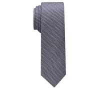 Krawatte Rose/silbergrau Strukturiert