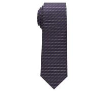 Krawatte Lila Gestreift