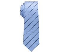 Krawatte Hellblau/maineblau Gestreift