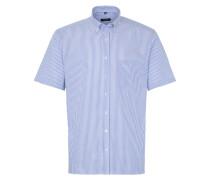 Kurzarm Hemd Modern FIT Oxford Blau/weiss Gestreift