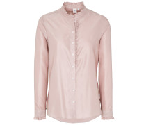 Langarm Bluse 1863 BY - Premium Altrosa Unifarben