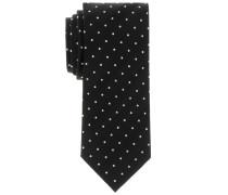 Krawatte Schwarz Getupft