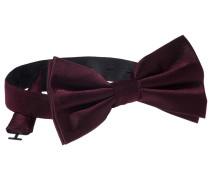 Fliege Bordeaux Unifarben