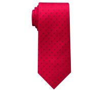 Krawatte Rot/blau Getupft
