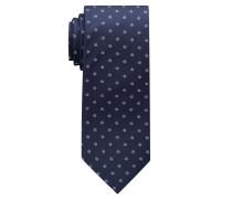 Krawatte Rosa/marineblau Gemustert