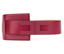 Gürtel mit Logo-Schnalle