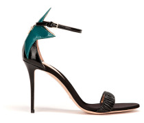 Zweifarbige Sandale