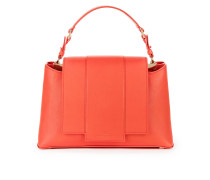 Mittelgroße Handtasche mit abnehmbarer Patte