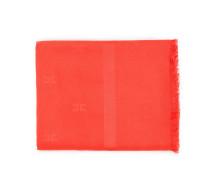Leichter, viereckiger Logo-Schal