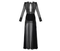 Langes Kleid mit Schlitz