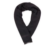 Dicker, rechteckiger Logo-Schal