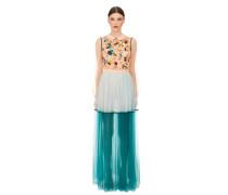 Langes Tüll-Kleid