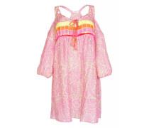 Aloha schuterfreies Minikleid in pink