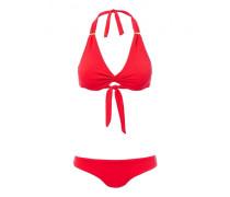 Africa Triangel Bikini in pique rot