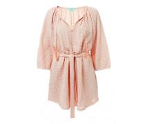 Alicia besticktes Kleid in rosa