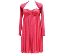 Leichtes Bandeau Kleid mit Bolero/JäckchenZweiteiliges Set