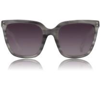 Slim D-Framed Sonnenbrille LFL 347 Grey Mist/ Silver Snake/GRey Gradient