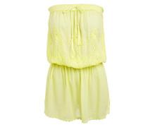 Bandeau Kleid Fruley Yellow