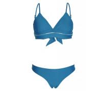Island Blue Padded Triangel Bikini