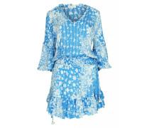Ilona Minikleid in Blue Butterfly