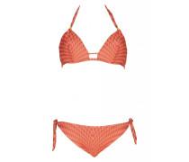 Bügel Bikini mit geometrichem Muster