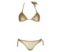 Padded Triangle Bikini Gold