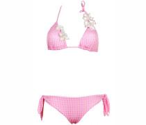 Bestickter Padded Triagle Bikini