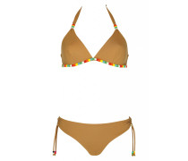 Triangle Bikini mit Perlendetails C/D Cup
