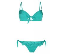 Push Up Bügel Bikini mit Spitzendetails