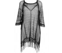 Vista Beach Sweater schwarz mit Fransen